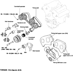 The crankshaft position sensor needs to be replaced on a