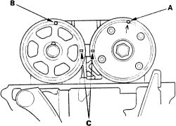 what is the timing chain removal procedure on 2004 honda cr v 2 4l rh justanswer com