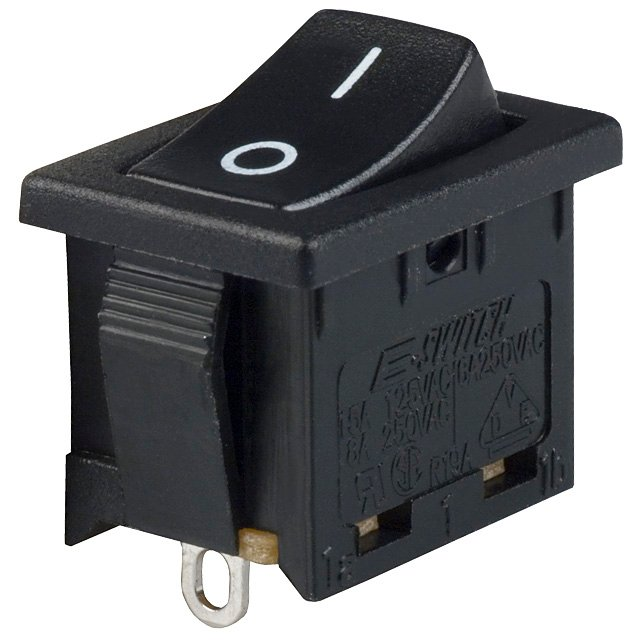 i have an electric ez go that i bought used in 2009, i believe is athe (springy) locking tabs need to be pushed in toward the switch then they will clear the opening