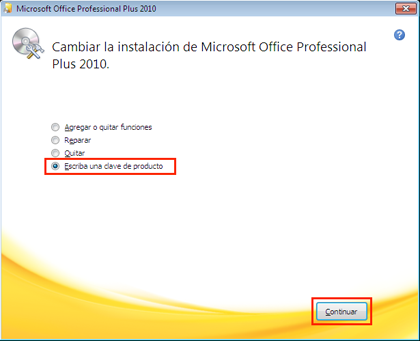 como activar la clave de microsoft office professional plus 2010
