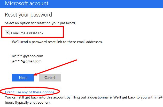 Microsoft Account Live Pw