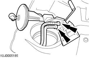 I am replacing the fuel pump in a 2003 Jaguar Type-S and ... Jaguar Fuel Pump Diagram on