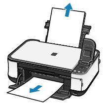 how to take out paper jam from canon printer