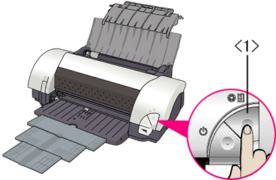 Canon i9900 printer, roller that ejects paper after it is