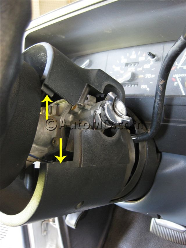 Steps To Remove And Replace Ingintion Switch 1988 Cadillac