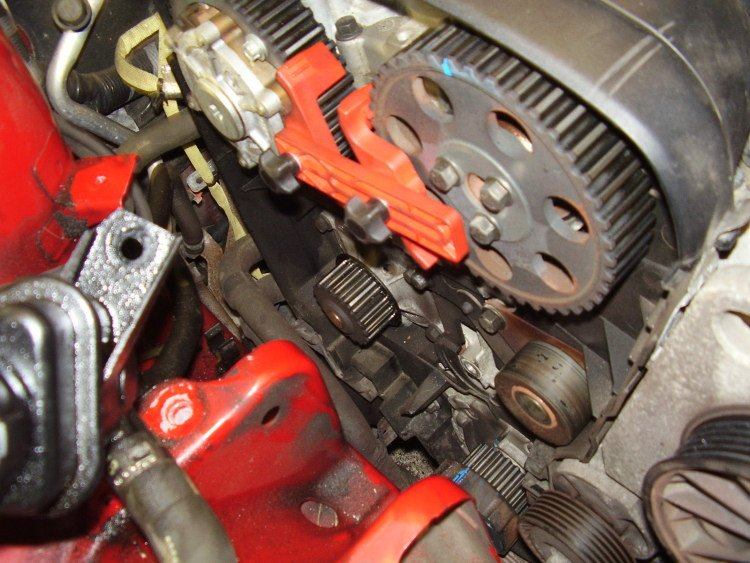 I U0026 39 M Changing The Timing Belt On A Volvo S4 And As I U0026 39 M Just