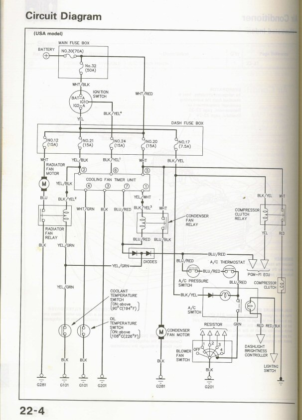 1995 Acura Integra Wiring Diagram | Wiring Diagram on