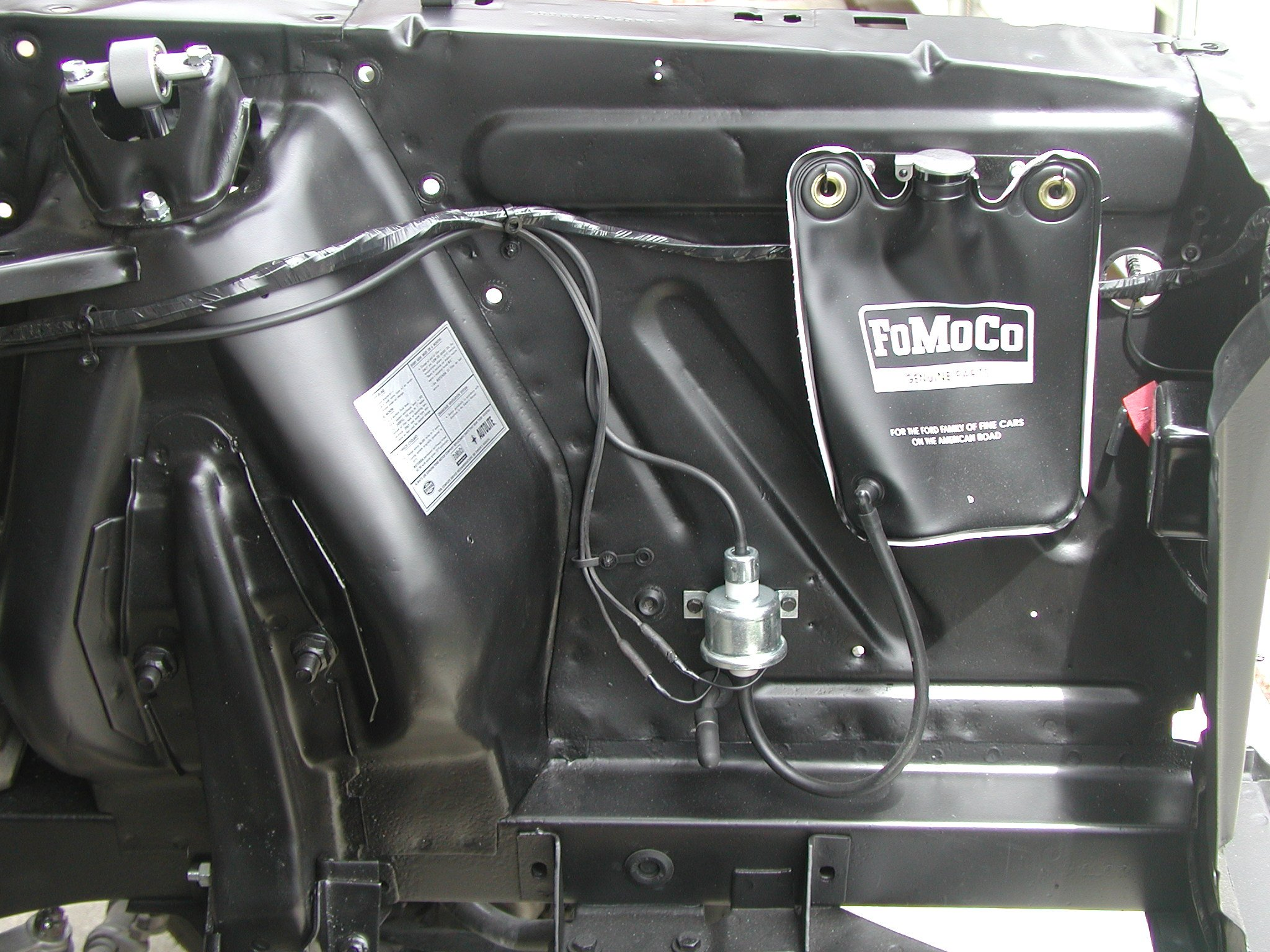 [DIAGRAM_5FD]  I'm installing a windshield washer system in my 65 mustang coupe I'm  looking for a picture or rough schematic of where | 1966 Mustang Engine Wiring |  | JustAnswer