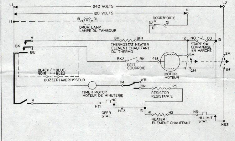 inglisnewstyle diagram restoring an old whirlpool dryer model le7505xpm1 the wires had Kenmore 110 Dryer Schematic at edmiracle.co