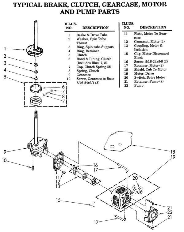 Interesting Maytag Washing Machine Parts Diagram Pictures - Best ...