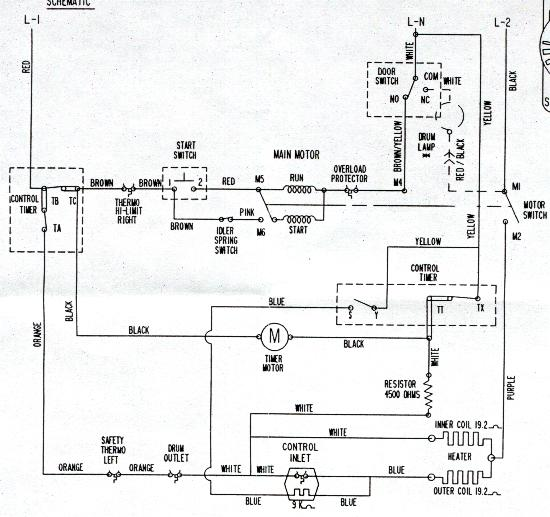 ge newelec diagram i replaced the motor in a ddg7288mal ge dryer with the universal we17x10010 wiring diagram at fashall.co