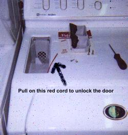 My Washing Machine Door Is Locked And I Cannot Get It To