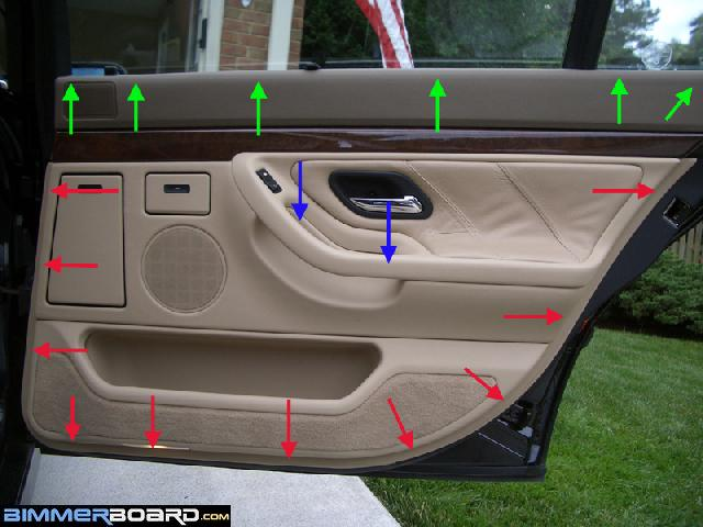 How Can I Remove The Door Panel And Vapor Barrier To Access The
