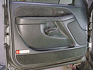 how do remove the inside passenger door panel in a 2004 gmc. Black Bedroom Furniture Sets. Home Design Ideas