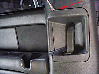 Removing Trim Around Rear Door Handle On Chevy Pickup