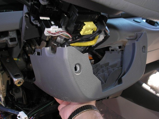 Toyota Camry Column Cover Lowered on Viper 5902 Wiring Diagram