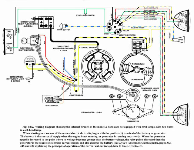 i have a 1930 ford, with the original motor, i have up dated to 12 Model A Generator Wiring Diagram model aelectrical wiring diagram