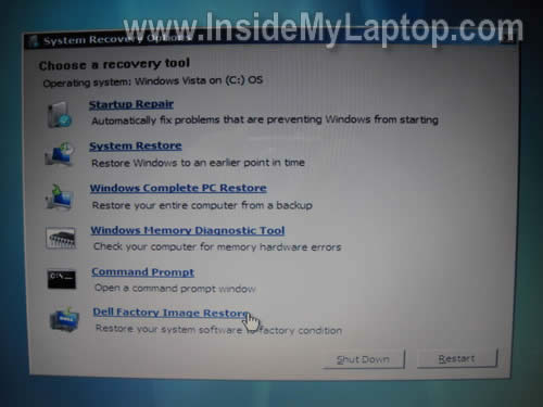 Samsung recovery partition windows 7