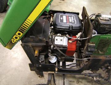 deere  lawn tractor  kohler  hp engine