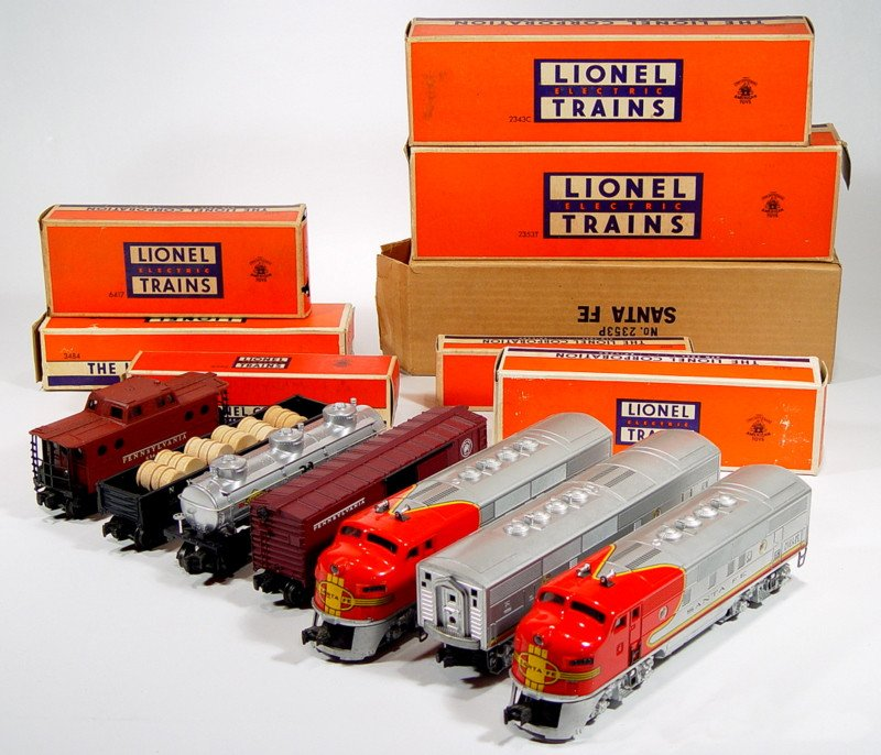I Have A 1953 Lionel Electric Train Set
