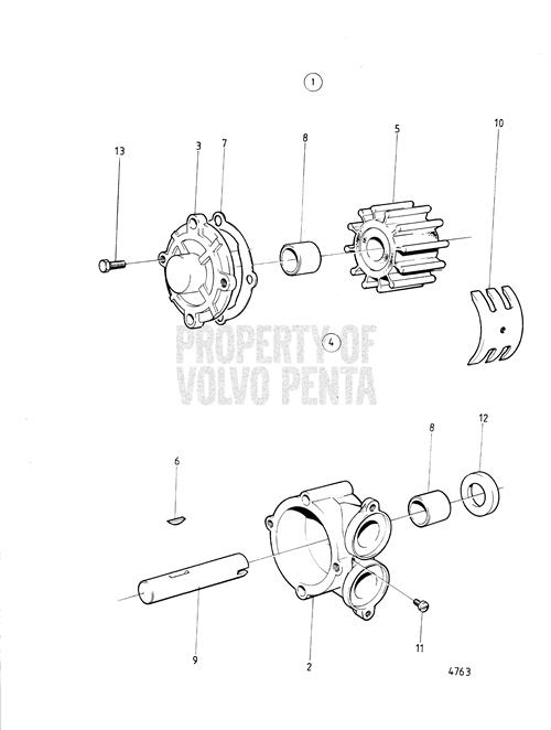 Volvo Pentum Thermostat Diagram