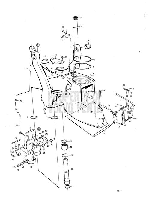 Mercruiser Alpha One Schematic