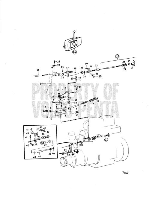 VOLVO MARINE DIESEL MD2B APPROXIMATELY 1975. ENGINE CONTROL FOR BOTH  TRANSMISSION AND ACCELERATOR. PROBLEM: EITHER | Volvo Penta Md2b Wiring Diagram |  | JustAnswer