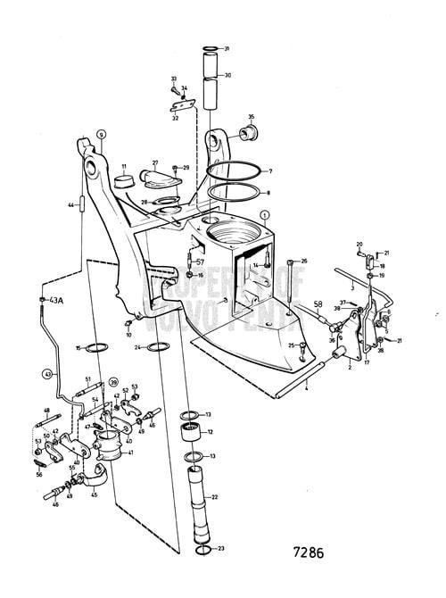 I Starter Motor Volvo Penta 1986 5 7 On A Garden Hose I Noticed
