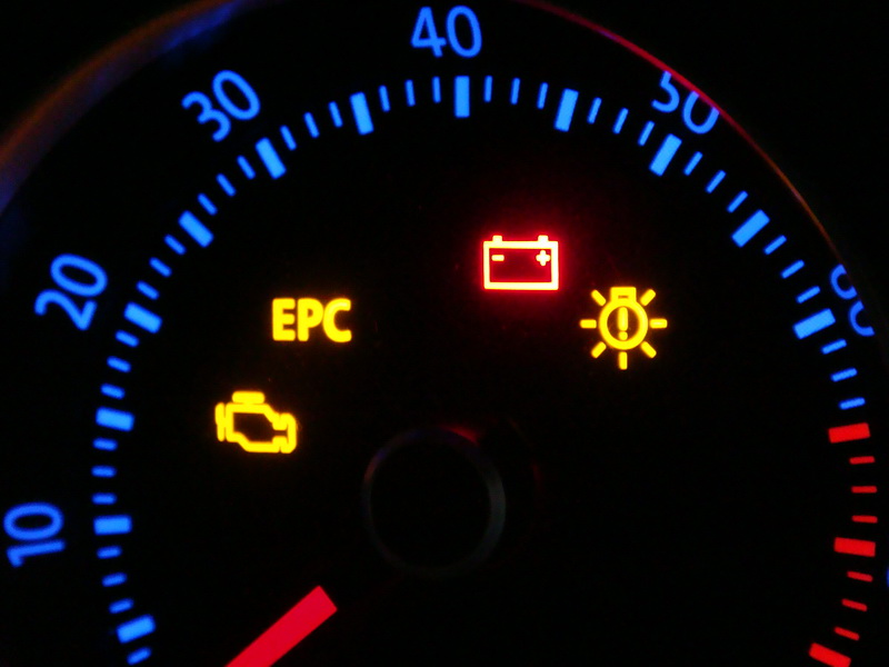 2008 Jetta What Is The Indicator In Tach Cer That Looks Vw Dash