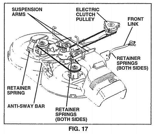 how to change the blade on a snapper riding mower
