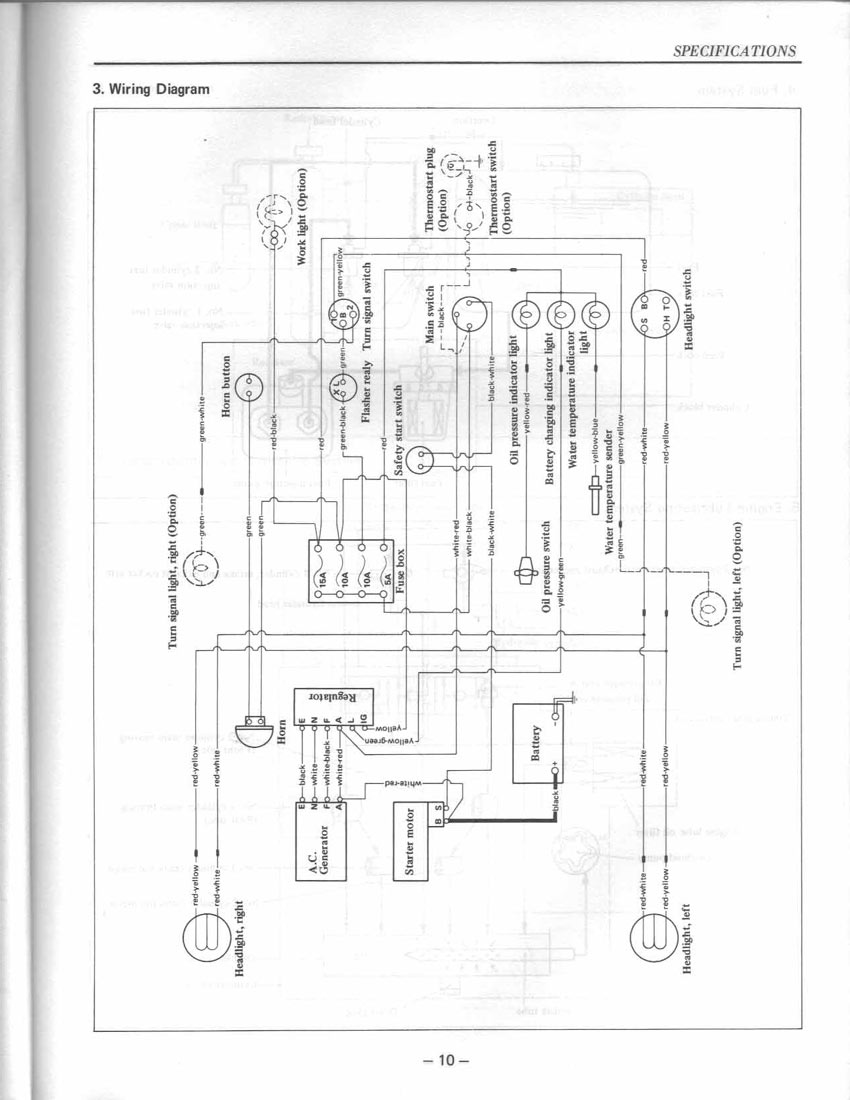 Where can I get a    wiring       diagram    electrical  for a    yanmar