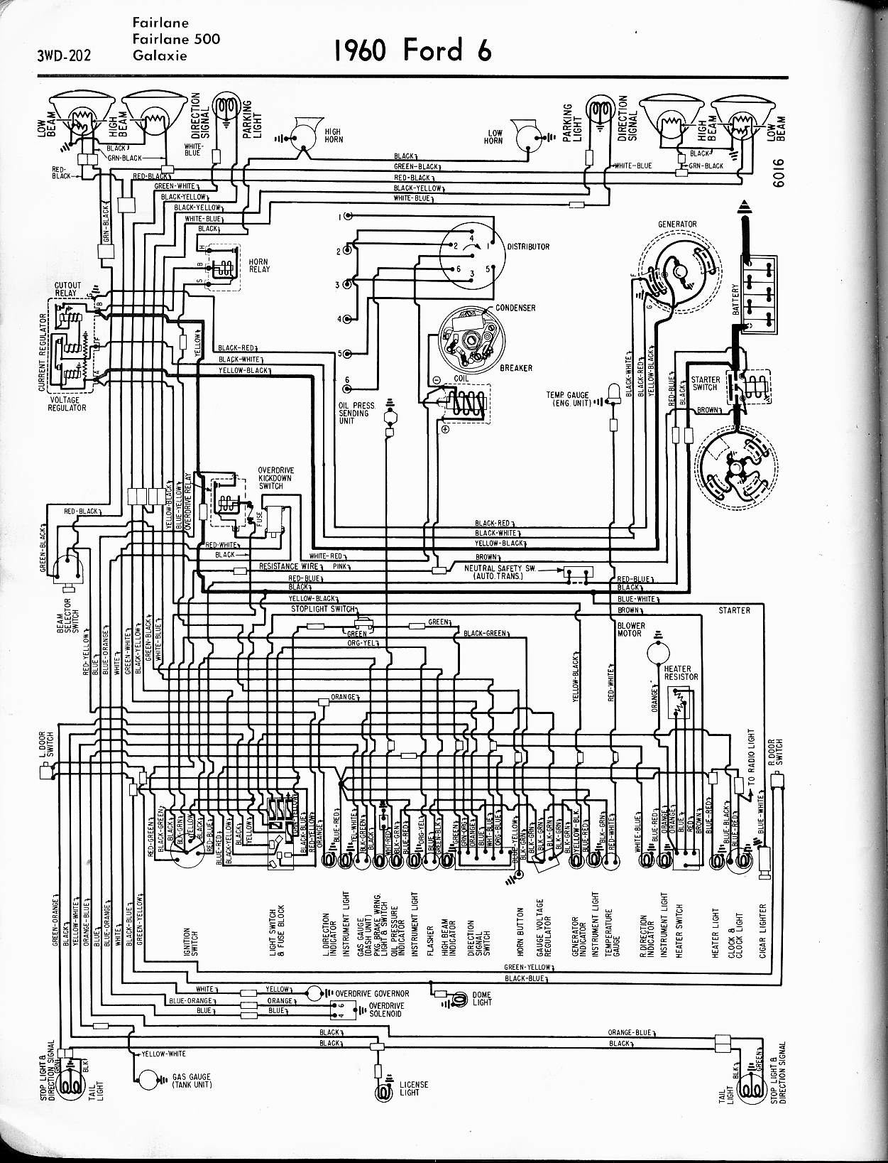 1957 Ford Wiring Diagram Pics | Wiring Collection