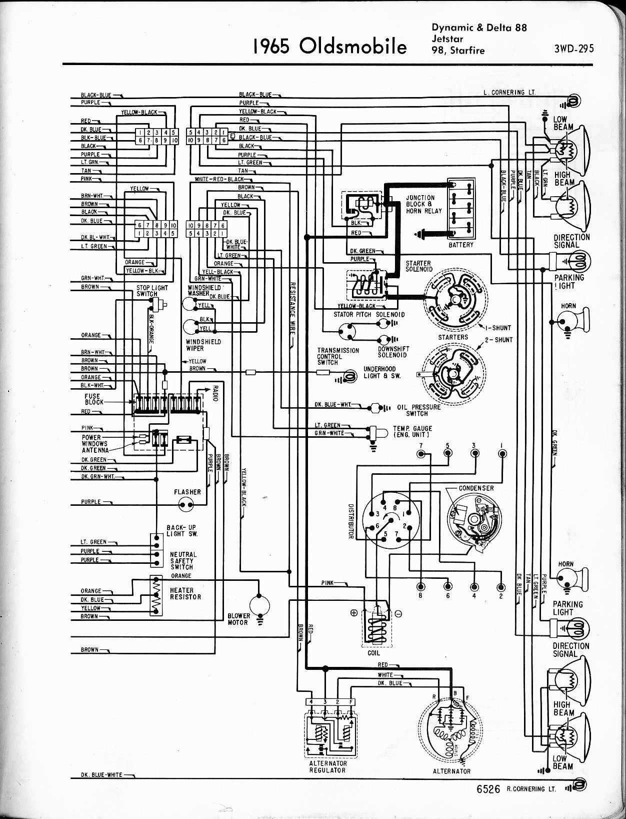 I have a 1967 Oldsmobile Cutl with a 330. I changed the ... Oldsmobile Points Distributor Wiring Diagram on