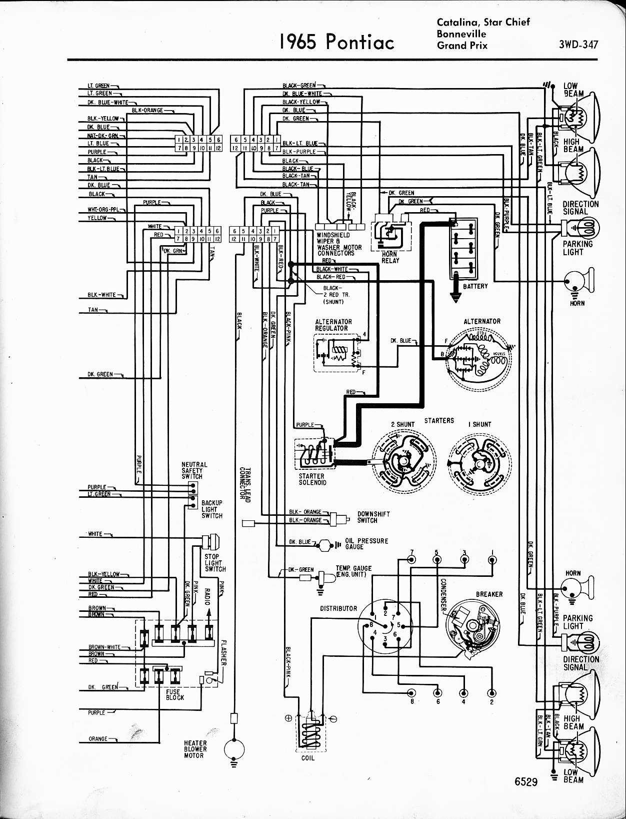 MWire5765 347 i am trying to reconnect the radio in my restored 1964 pontiac 1964 GTO Dome Light Wiring Diagram at alyssarenee.co