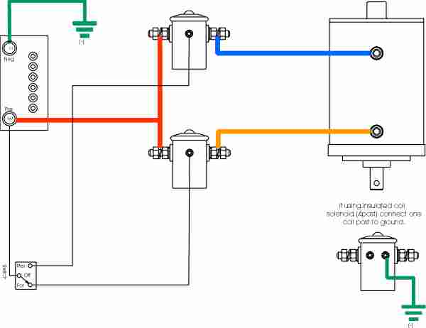 battery isolator wiring diagram for winch wiring diagram for winch on truck #3