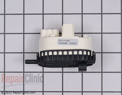 Pressure Switch W10239066       Main Product View