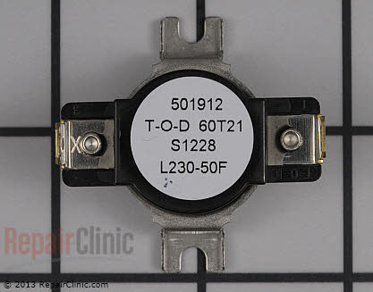 High Limit Thermostat DC47-00017A Main Product View