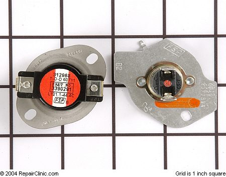 how to know if a thermal cut off in dryer
