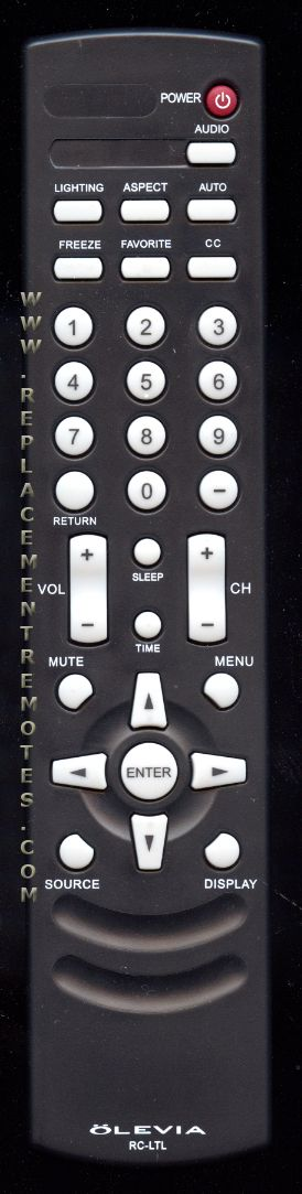 i bought a olevia 34 has no remote i have cable i cant even get rh justanswer com