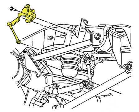 Envoy Suspension Diagram on 2006 gmc envoy sle