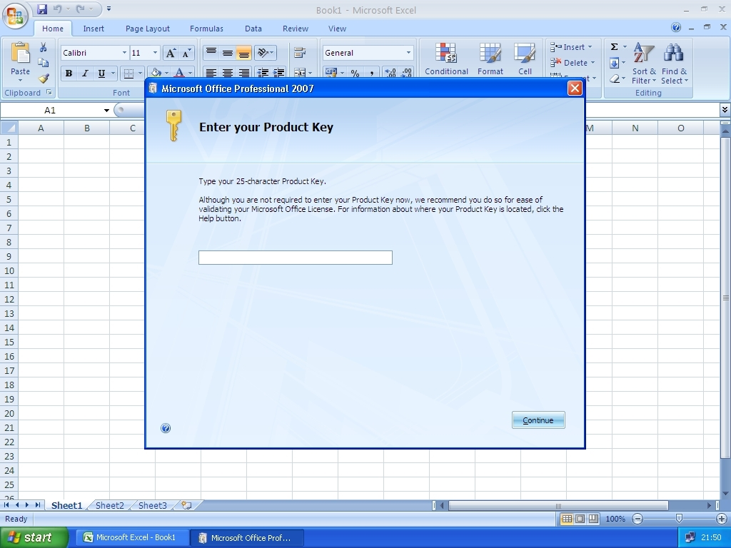 office 2007 product key location
