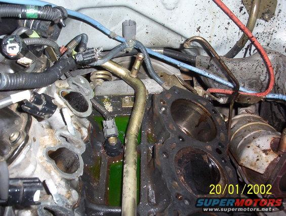 I Am Replacing The Nissan Pathfinder  1999 3 3  Knock Sensor  But I Cannot Seem To Locate The