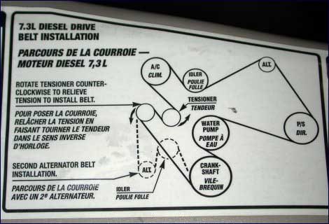 2000 international 4700 t444e wiring diagram i need the serpentine belt routing for a 2001 ... #2