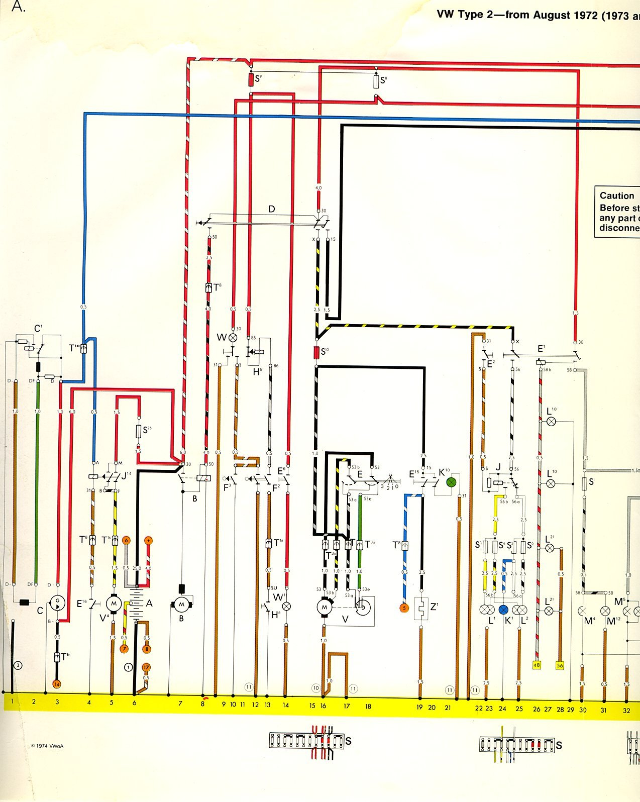 74 beetle wiring diagram for lights on 74 bug wiring schematics i'm looking for a color-coded wiring diagram for a 1973 vw ...