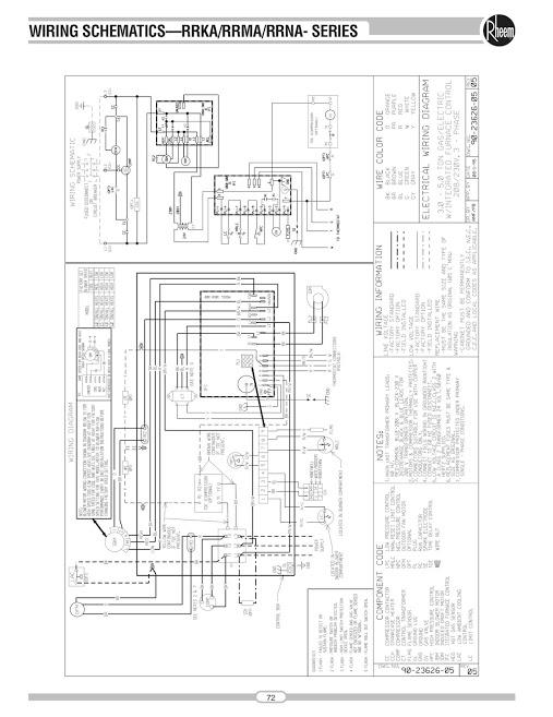 Rheem Wiring Diagram Efcaviation