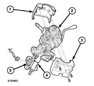 2006 ram 1500 4x4 wiper washer pump not working just replaced with Dodge Steering Column Bearings Diagram removal