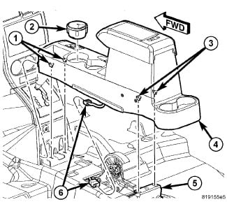 How would I remove the center console of my 2009 Jeep Patriot? I