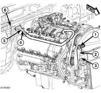 Where Is The Low Pressure A C Port On 2007 Jeep Cherokee Located Is