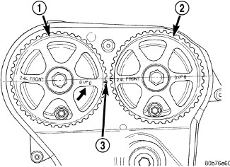 Need a timing belt    diagram    for    2006       Jeep       Wrangler    4 cyl