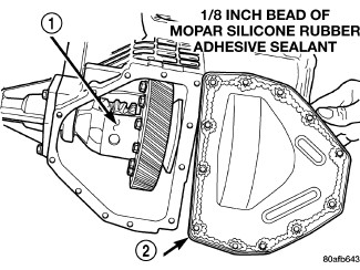 i have finally determined that a reoccurring transmission leak on my Lifted Dodge Caravan remove the differential cover bolts 1